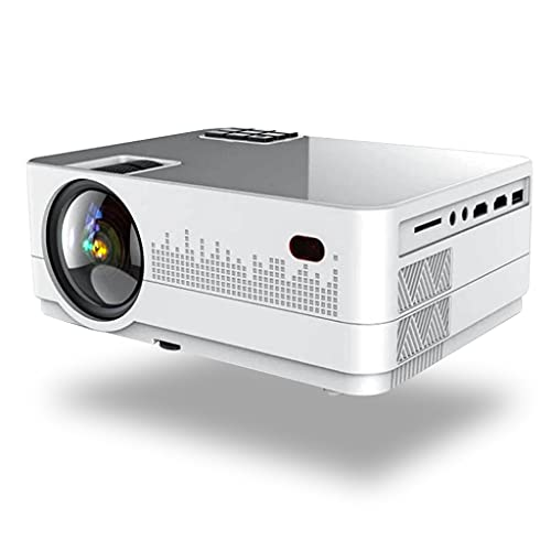 SGZYJ Proyector LED Mini Micro Proyector de Video HD portátil con USB para...
