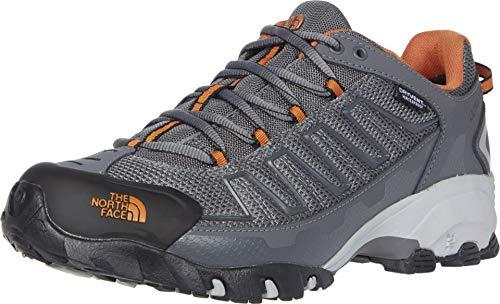 The North Face Men's Ultra 109 WP, Zinc Grey/Burnt Orange, 11.5 D