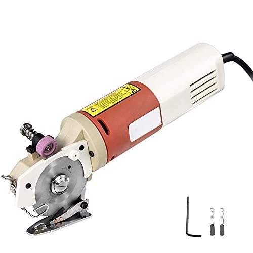 LGQ Tijeras de Tela eléctrica cortadora de Tela para alfombras Multicapa Correa...