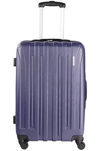 NOWI PARIS M ABS Hartschale Trolley Reisekoffer Gepäck TSA Schloss 4 Rollen 70l Volumen