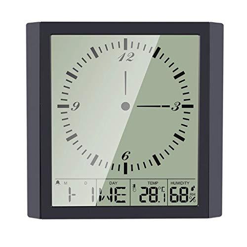 YWSZJ Stazioni Meteo Digital LCD Disparay Dispositivo di Ampio Schermo Ampia Sveglia Sveglia Nuovo Indoor
