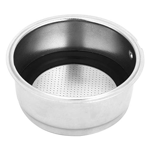 keyren Sitko do kawy, zdejmowany filtr do kawy ze stali nierdzewnej, wytrzymałe łatwe czyszczenie ekspresu do kawy ekspres do kawy (dla dwóch osób)