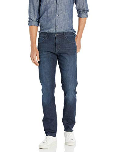 Armani Exchange Herren Cotton Stretch Blue Indigo Straight Jeans, Blau (Denim Indaco 1500), W33/L32 (Herstellergröße: 33)