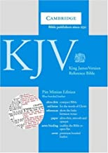 KJV Pitt Minion Reference Edition, R182 Blue Bonded Leather