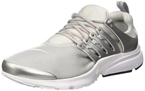 Nike Air Presto Premium, Scarpe da Ginnastica Uomo, Grigio (Metallic Silver/Pure Platinum/White), 45 EU
