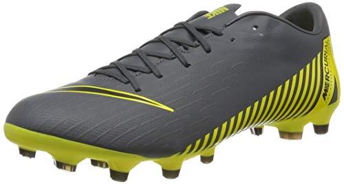 Nike Herren Vapor 12 Academy Mg Fußballschuhe, Grau (Dark Grey/Black-Dark Grey 070), 44 EU