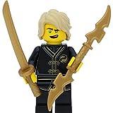 LEGO Ninjago Lloyd (Black Wu-Cru Training Gi) con espadas