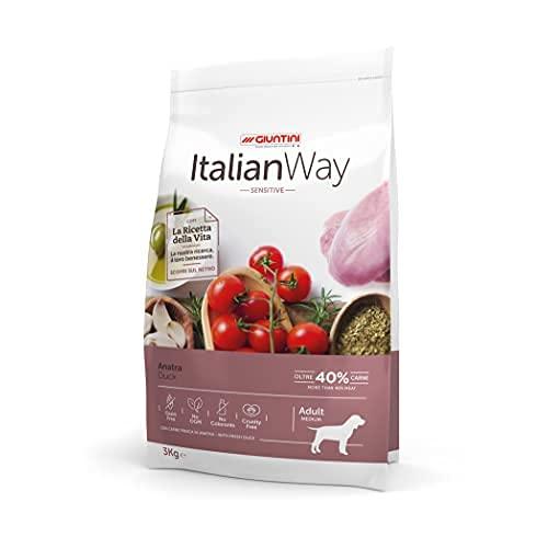 Italian Way Cibo per Cani Sensitive Anatra - Adult - Mini - 8 kg
