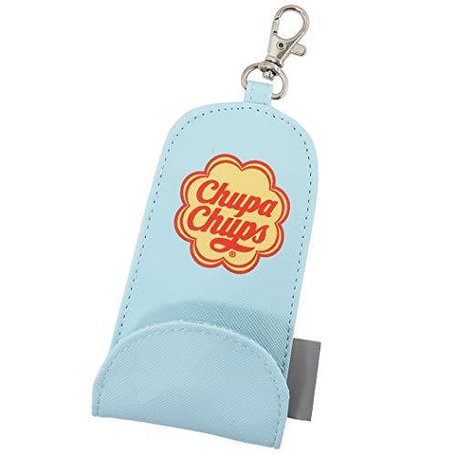 チュッパチャプス[リール付きキーケース]伸びる鍵カバー/小学校 入学準備 女の子向け ミント