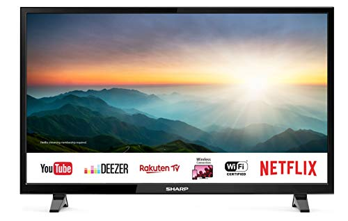 "Sharp Aquos Smart TV LC-40FI5012E da 40"" Full HD, Audio Harman Kardon [Classe di efficienza energetica A+]"