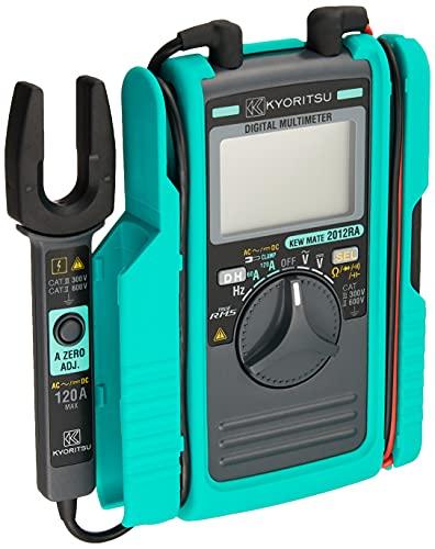 共立電気計器 (KYORITSU) 120A RMS AC/DCクランプ付デジタルマルチメータ KEWMATE 2012RA