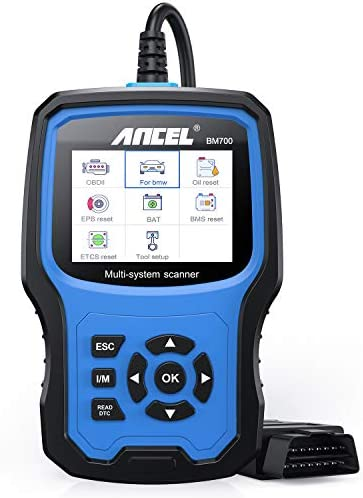 ANCEL BM700 for BMW Vehicles Diagnosis All Systems OBD II Scanner Code Reader with CBS Oil EPB product image