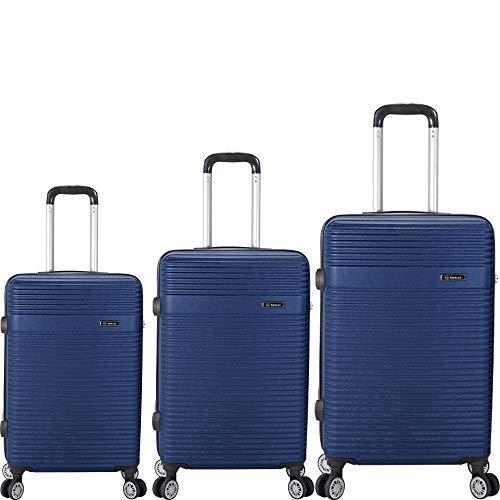 BENZI Juego de Maletas ABS BZ5418 70cm(45x67x27cm) 60cm(39x57x25cm) 50cm(35x52x19cm) (Azul)
