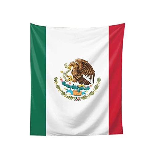 N\A Tapiz de Pared con la Bandera de México, Arte de Pared, Sala de Estar, Dormitorio, decoración del hogar, Arte de Pared