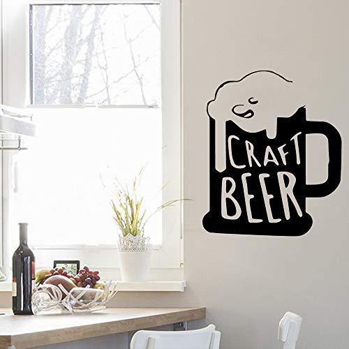 Bier Diy muurkunst stickers muurstickers PVC materiaal voor kinderkamer DIY decoratie achtergrond muurkunst sticker 15x14 cm