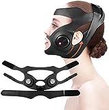 Masajeador facial facial con forma de V eléctrica Máquina de elevación facial Levante la cara de la cara delgada en forma de V adelgazante máscara de mejilla