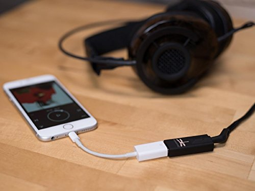 Android Bundle AudioQuest DragonFly Black v1.5 USB DAC Headphone Amp and Micro OTG USB 2.0 5in