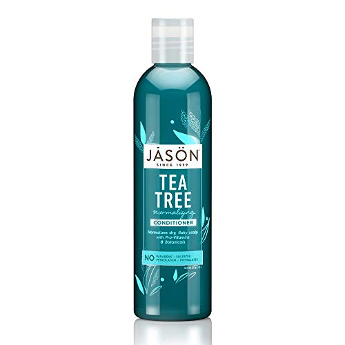 Organic Tea Tree Oil Therapy Conditioner 237ml by Jason Bodycare (English Manual)