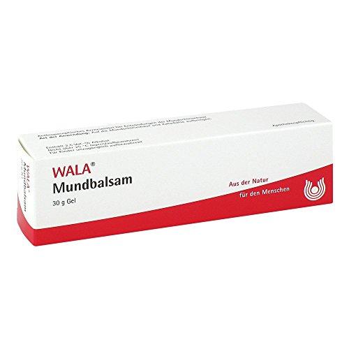 WALA Mundbalsam Gel bei Entzündungen der Mundschleimhaut, 30 g Gel