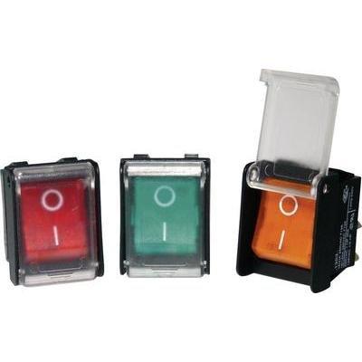 ARCOLECTRIC Wippschalter C1353AHNAA 250 V 16 A 1 x Aus/EIN rastend 1 St.