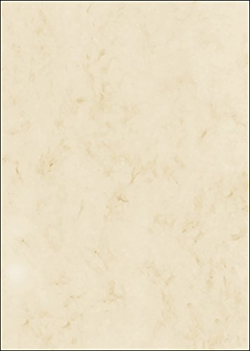 50 fogli di carta marmorizzata su entrambi i lati di alta qualità beige 200g/m², DIN A4