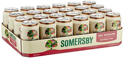 Somersby Red Rhubarb Cider, Dose Einweg (24 x 0.33 l)