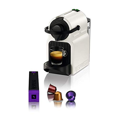 Krups Nespresso Inissia XN1001 Kapselmaschine | kurze Aufheizzeit | kompaktes Format | Kaffeemenge einstellbar | Direktwahltaste | automatischer Kapselauswurf | 19 Bar