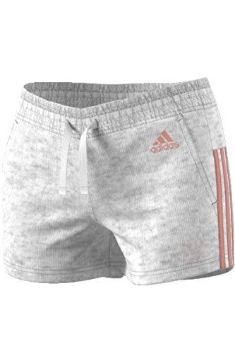 adidas - Pantalón corto - para mujer Gris gris X-Large