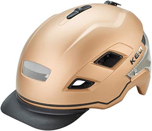 KED Berlin Helmet Gold matt Kopfumfang L / 56-61cm 2019 Fahrradhelm