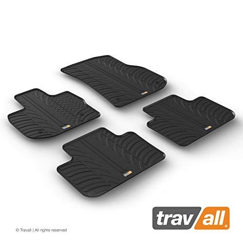Travall Mats Gummifußmatten Kompatibel Mit BMW X3 (Ab 2017) TRM1313 - Allwettermatten Nach Maß Fussmatten Set