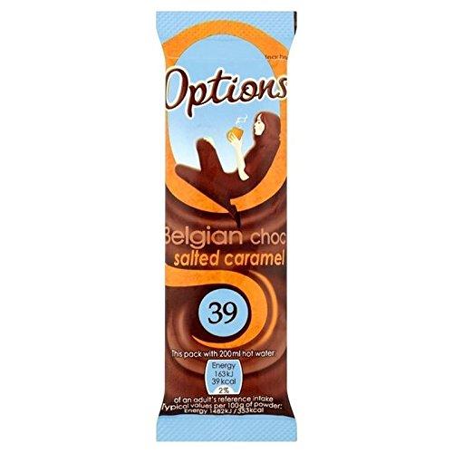 Options Caramel Salé Chocolat Chaud Sachet 11G - Paquet de 6