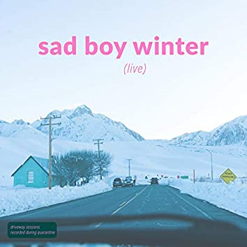 sad boy winter