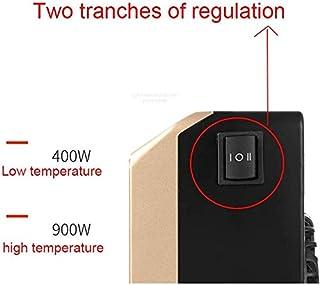 JIARQ Calentador de Ventilador Mini Calentadores de radiador portátil de pequeño tamaño de calefacción del acondicionador de Aire del Ventilador de Calor Inicio del Ventilador eléctrico de Silencio