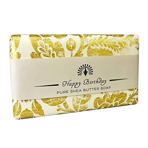 The English Soap Company, Occasions Shea Butter Soap, Happy Birthday -Lavender, 200g