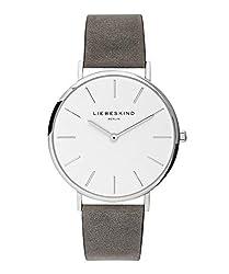 Liebeskind Berlin Damen Analog Quarz Armbanduhr mit Lederarmband LT-0158-LQ
