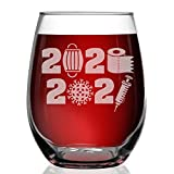 PREMIUM STEMLESS WINE GLASS. Designed and permanently laser engraved in-house for the highest quality crystal-clear finish. Features a stemless, sturdy base design to minimize the risk of breakage. Ergonomic shape showcasing a narrow rim and sleek si...