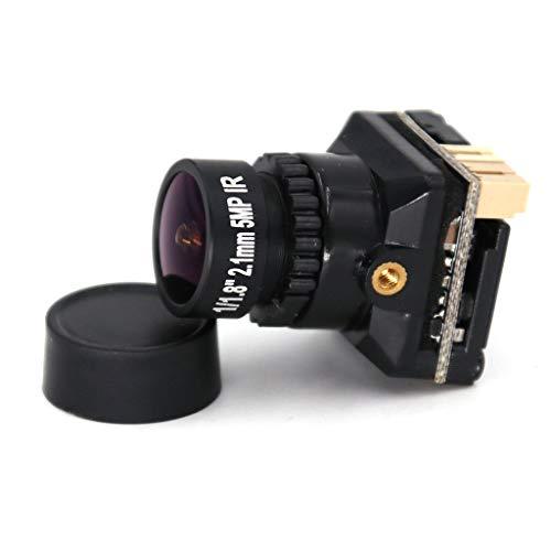 Makerfire Telecamera FPV 800TVL Obiettivo 2.1mm Starlight 1080P Mini Telecamera con FOV a Bassa latenza 135 Gradi D-WDR Pal NTSC commutabile OSD per Micro Racing Drone