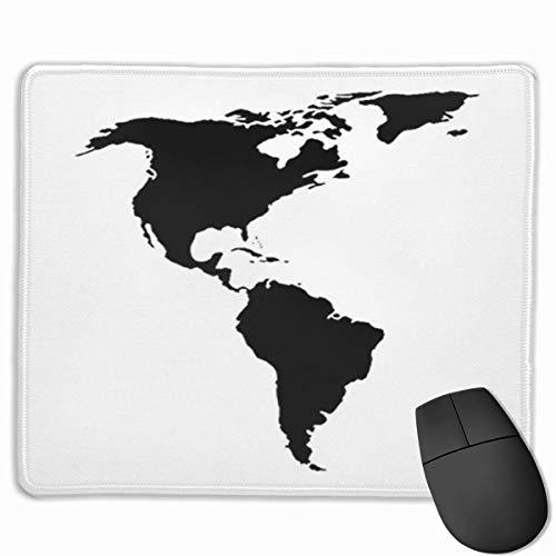 Alfombrilla de ratón, Alfombrilla de Escritorio, Alfombrillas de ratón, Alfombrilla de ratón Mapa de América del Norte y del Sur Resumen Continente Americano Argentina Brasil