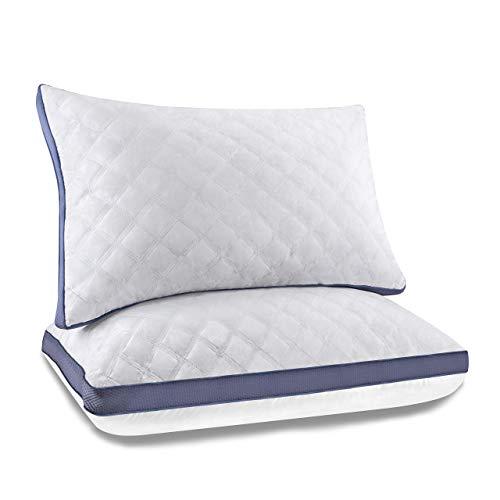 YZHM Almohadas de algodón Almohadas de sueño Profundo Almohadas Super Suave Soft Soft Calidad 46 * 70 cm 2 Paquete