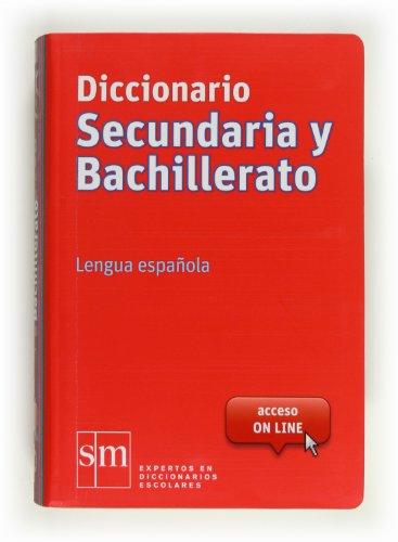 Diccionario Secundaria y Bachillerato. Lengua española - 9788467541304