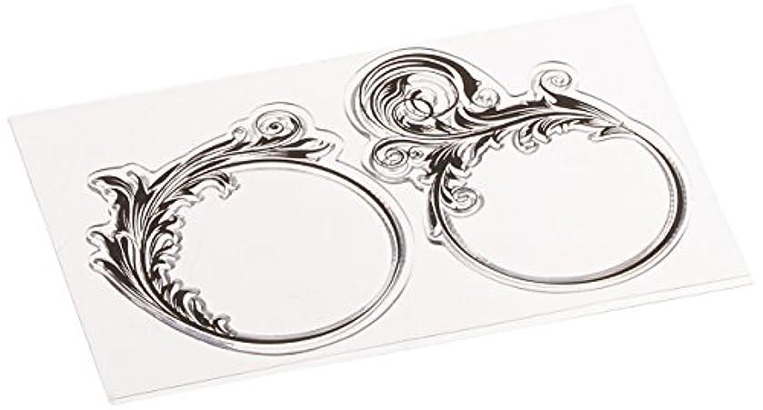Joy Craft Clear Stamps, Floral Frames 2