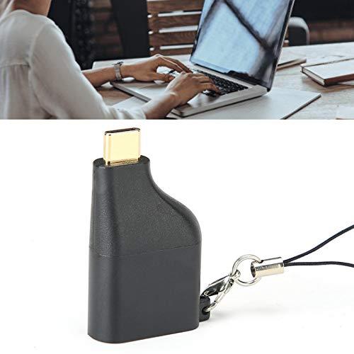 Qqmora Adaptador Mini Tipo C a DP Convertidor Tipo C a DP Tableta, teléfono, computadora portátil