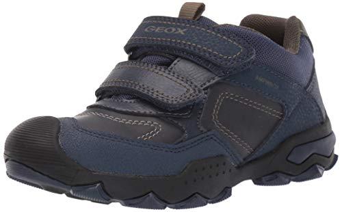Geox Jungen J BULLER Boy B ABX D Sneaker, Blau (Navy/Military Cf4a3), 24 EU
