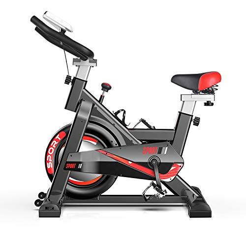 DnKelar Heimtrainer Fahrrad für zuhause, Heim Sitzfahrrad mit Digitaler Monitor, Multifunktionaler Beintrainer Fahrradtrainer 150 kg Belastbar, Fitness Bike mit einstellbare Sitzhöhen