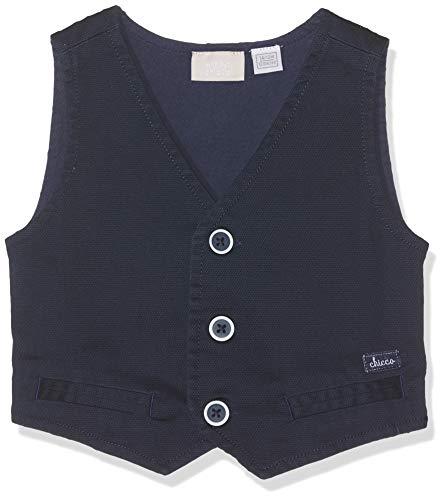 Chicco Chicco Baby-Jungen Gilet Top, Blau (Blu Scuro 088), 50 (Herstellergröße: 056)