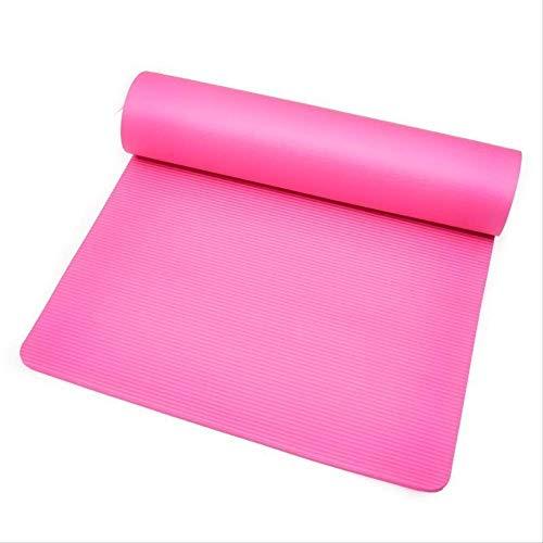 Monochrome band meditatiekussentje draagbare yogamat kleine afmeting compact dans verwijding Yoga Mat