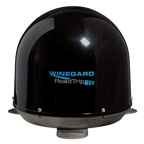 Winegard RT2035T Roadtrip T4 In-Motion RV Satellite Antenna - Black