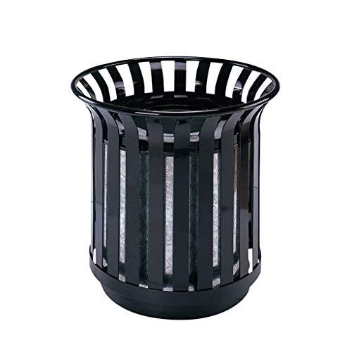 Basura y reciclaje Papeleras Cubo de basura Retro Europeo Contenedores Jardín Parque En / Cubos de basura al aire libre Papelera Canasta de reciclaje Papelera de reciclaje Papelera de basura Cubos de