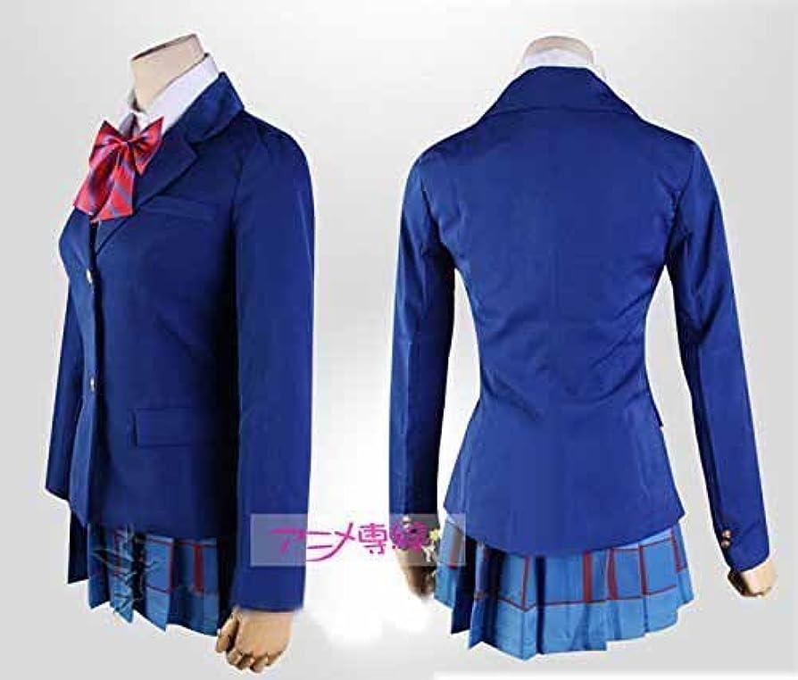 直面する影響力のあるサイトラインラブライブ 国立音ノ木坂学院 女子制服 風 衣装 3点セット 蝶結び3色 コスチューム Sサイズ