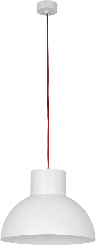 WORKS Weiß-rot I Deckenleuchte Deckenlampe Hngelampe